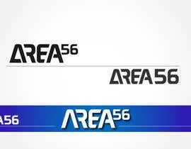 #49 for a logo for an escape game that is called 'AREA 56' by MasterRayan