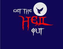 #17 untuk Design a Logo for an escape game named 'Get The Hell Out' oleh n24
