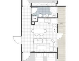 #10 for 2D apartment project af golrokhsadr