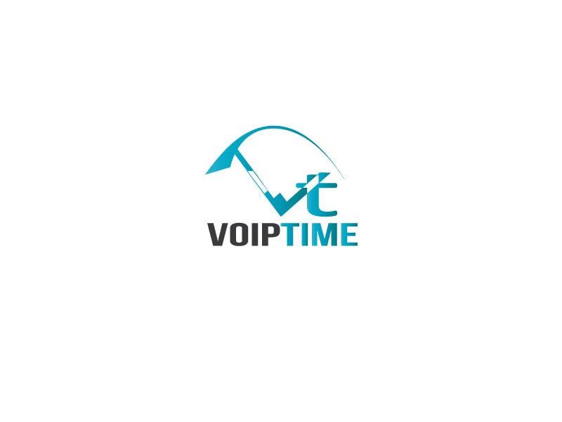 Penyertaan Peraduan #203 untuk Design a Logo for VoIPTime