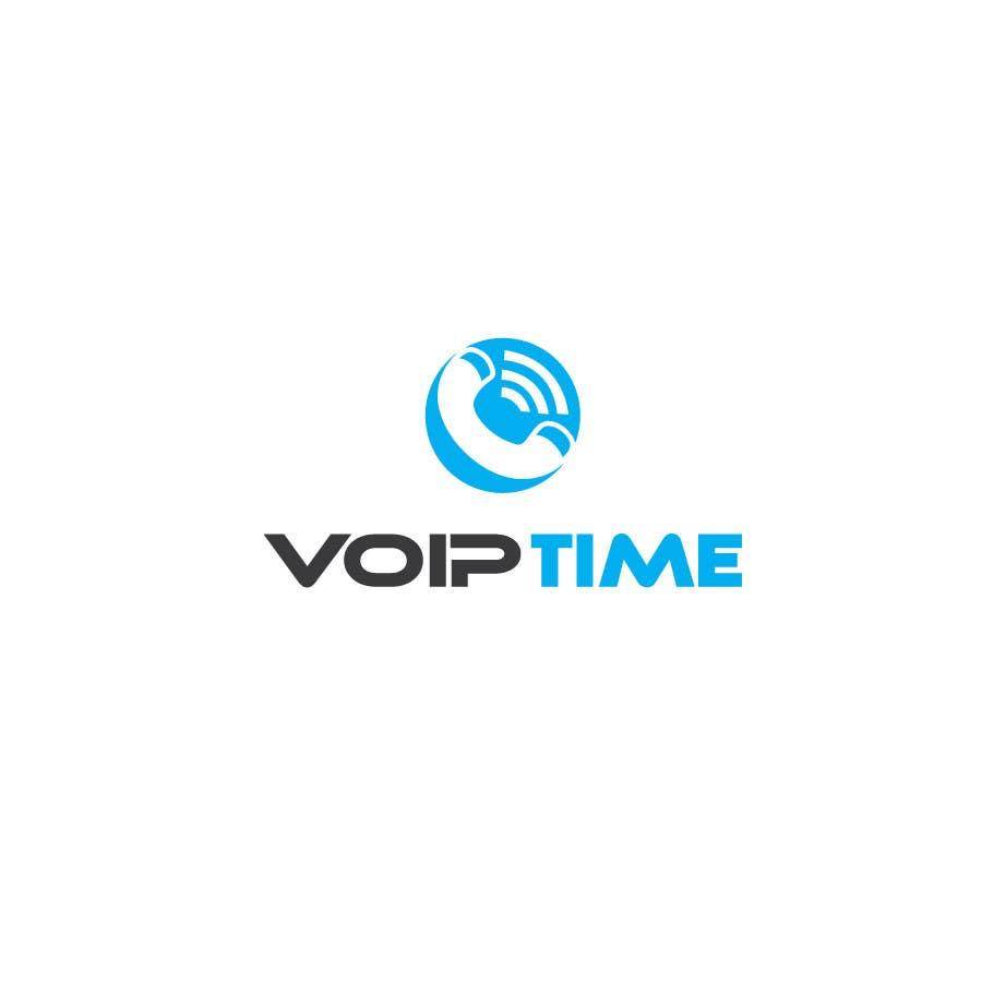 Penyertaan Peraduan #110 untuk Design a Logo for VoIPTime