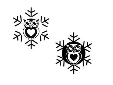 lavdas215 tarafından Need some loving snowflake+owl graphics for my wedding için no 25