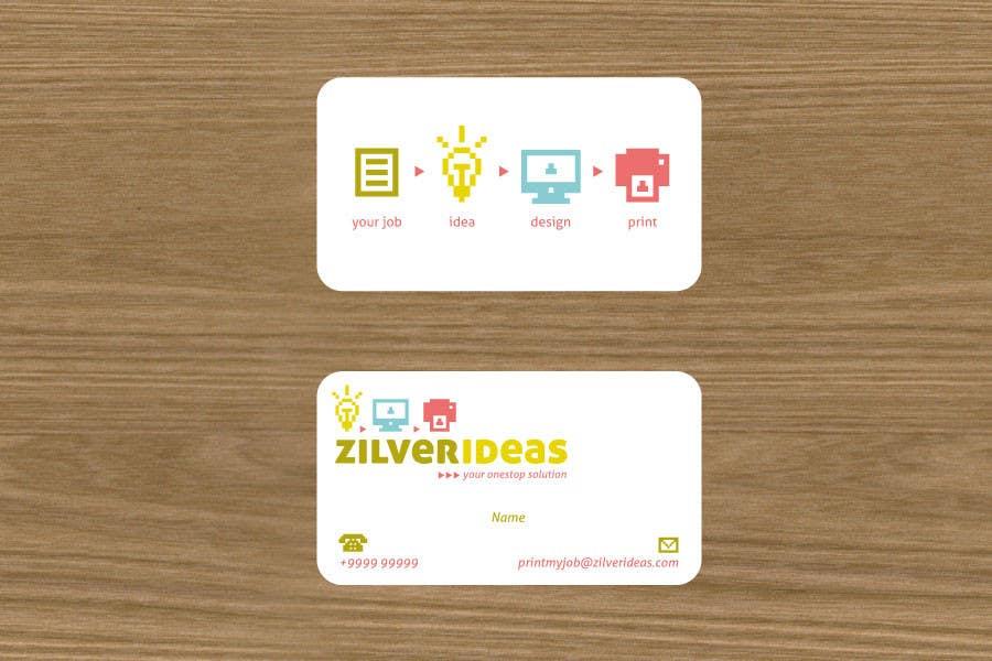 Contest Entry #                                        483                                      for                                         Logo Design for Zilver Ideas