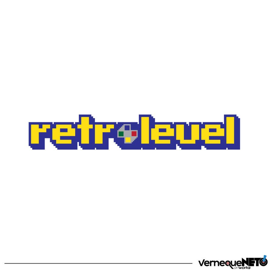 Entry #42 by vernequeneto for Design a Logo for «Retro Level
