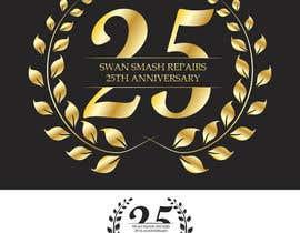 #55 untuk 25th Anniversary Logo oleh chatl94