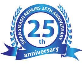 #46 untuk 25th Anniversary Logo oleh tariqaziz777