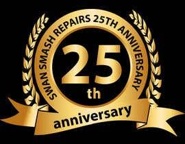 #47 untuk 25th Anniversary Logo oleh tariqaziz777