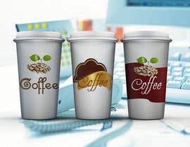 #18 cho Reusable coffee cup and lid design bởi nurf4t