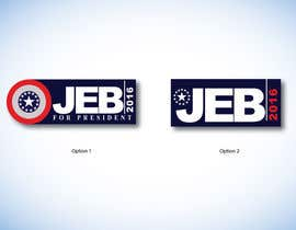 #103 para Redesign the campaign logo for U.S. presidential candidate Jeb Bush por digitalartsguru