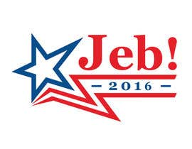 #137 para Redesign the campaign logo for U.S. presidential candidate Jeb Bush por lenssens