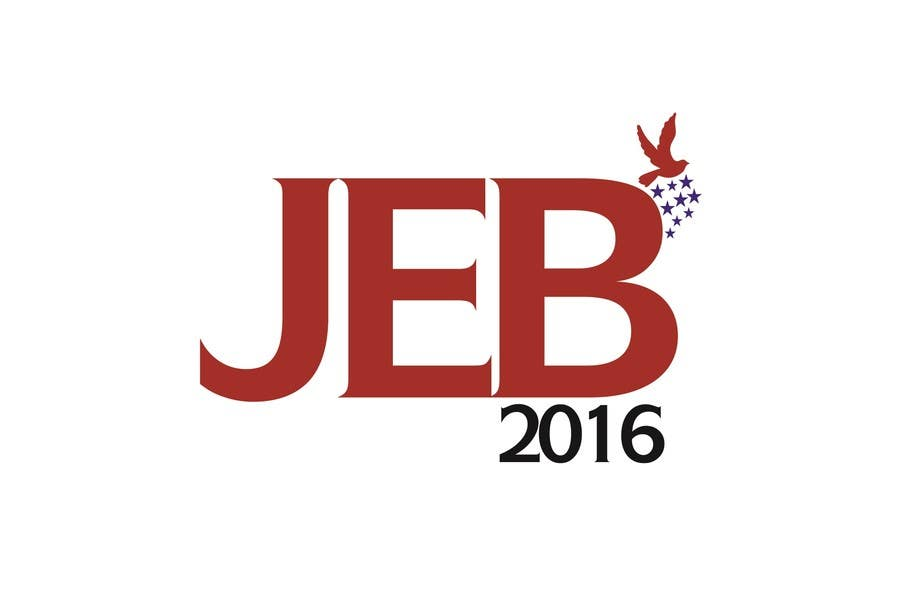Inscrição nº 138 do Concurso para Redesign the campaign logo for U.S. presidential candidate Jeb Bush