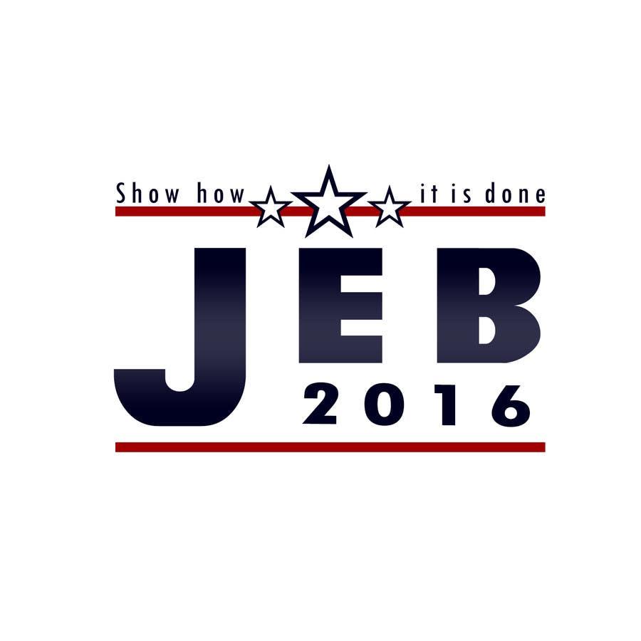 Inscrição nº 122 do Concurso para Redesign the campaign logo for U.S. presidential candidate Jeb Bush