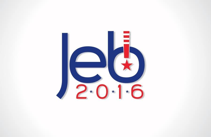 Inscrição nº 114 do Concurso para Redesign the campaign logo for U.S. presidential candidate Jeb Bush