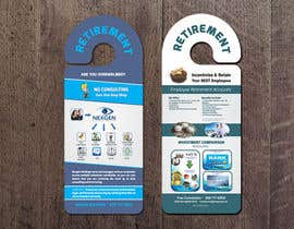 #5 para Design a Brochure for a Door Hanger- Investments and Business Services por thonnymalta