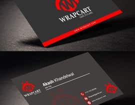 #22 para Design some Business Cards for Wrapcart.com por rahabikhan