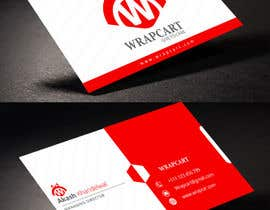 #37 para Design some Business Cards for Wrapcart.com por rahabikhan