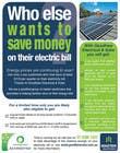 Graphic Design Natečajni vnos #11 za Advertisement Design for Goodhew Solar & Electrical