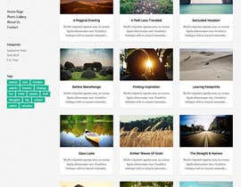 #1 untuk Create a Responsive Wordpress Template for Photographer/Videographer oleh anymix