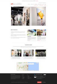 #29 for Design Landing Page, Responsive Landing Page & Overall Theme for Art Fair Website af kreativeminds