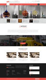 kreativeminds tarafından Design Landing Page, Responsive Landing Page & Overall Theme for Art Fair Website için no 30