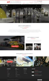 #31 for Design Landing Page, Responsive Landing Page & Overall Theme for Art Fair Website af kreativeminds