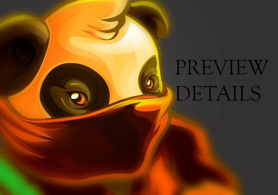 Contest Entry #                                        19                                      for                                         Mascot Design for Ninja Panda Designs