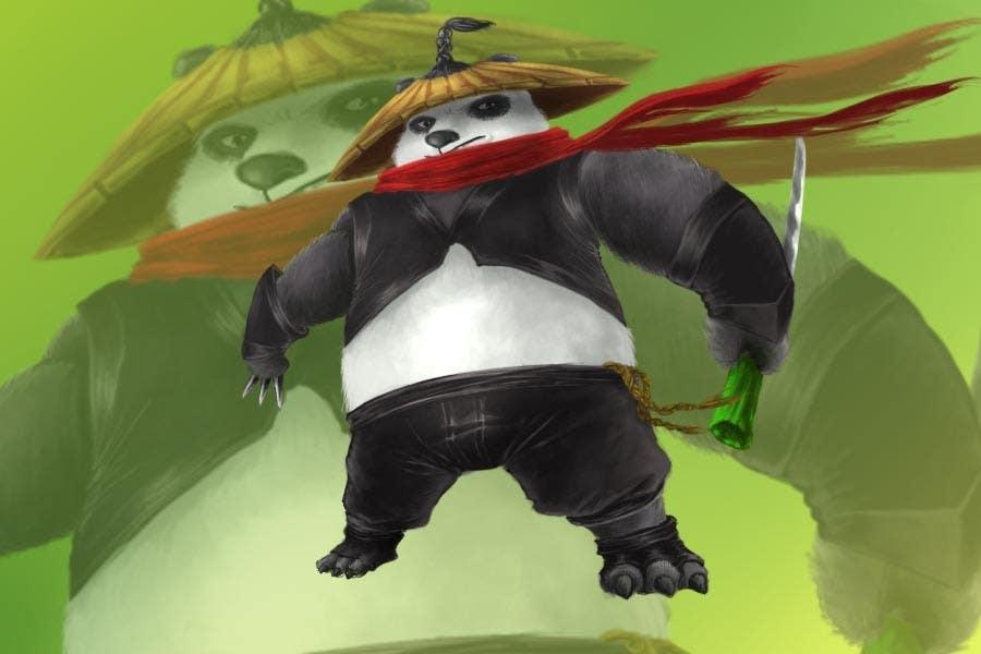 Contest Entry #17 for Mascot Design for Ninja Panda Designs