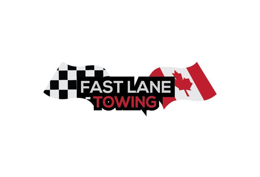 Penyertaan Peraduan #27 untuk Design a Logo for Fast Lane Towing