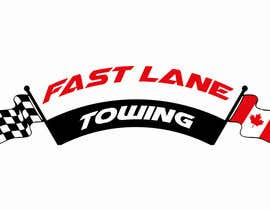 #40 untuk Design a Logo for Fast Lane Towing oleh chimizy