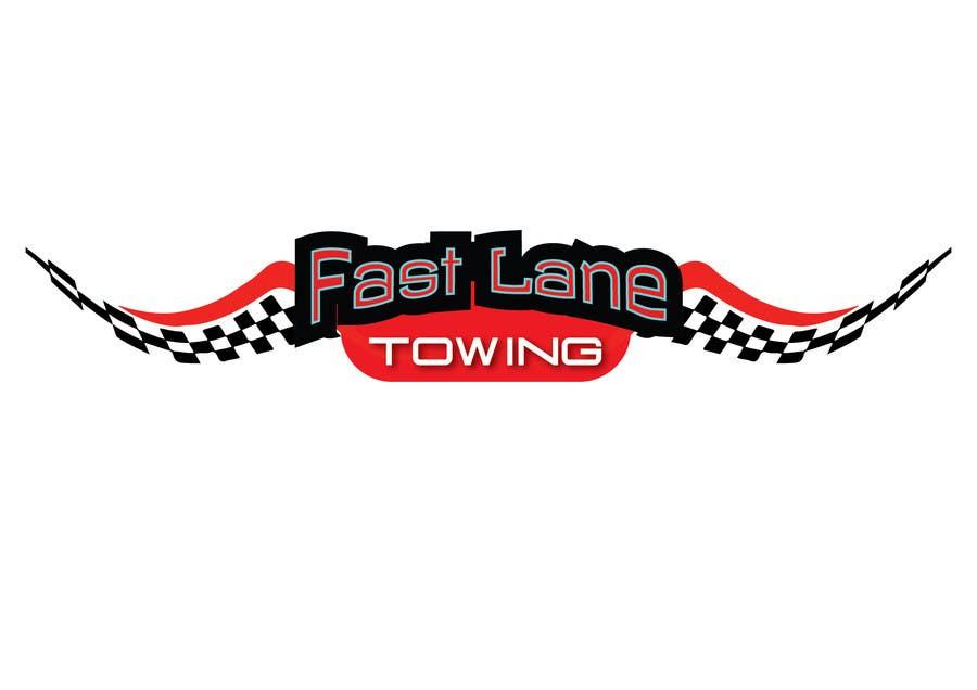 Penyertaan Peraduan #4 untuk Design a Logo for Fast Lane Towing