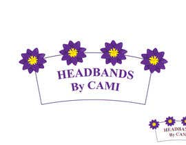 #37 untuk Design a logo for Headbands by Cami oleh SERIAL7