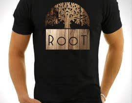 "Saadyarkhalid tarafından Design T-shirt for fashion brand ""Root"" Sustainable Wooden Accessories için no 61"