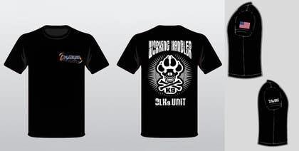 ezaz09 tarafından Design a T-Shirt for Off Leash K9 Training için no 19