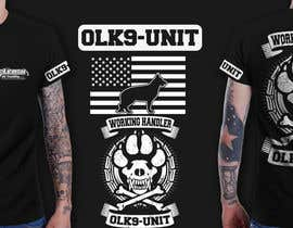 #49 untuk Design a T-Shirt for Off Leash K9 Training oleh richisd