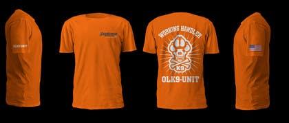 murtalawork tarafından Design a T-Shirt for Off Leash K9 Training için no 27