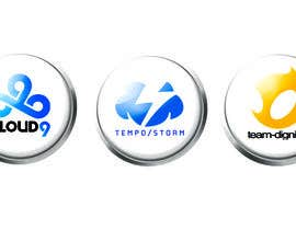 #23 untuk Convert 20 Team Badges Into Badge Icons For Esports teams oleh briangeneral