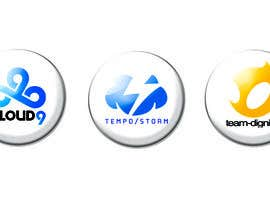 #28 untuk Convert 20 Team Badges Into Badge Icons For Esports teams oleh briangeneral