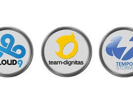 #25 untuk Convert 20 Team Badges Into Badge Icons For Esports teams oleh VikeshAgravat