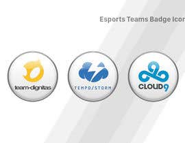 #16 cho Convert 20 Team Badges Into Badge Icons For Esports teams bởi Piraruka