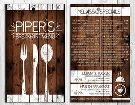 #2 cho Design a Restaurant Menu For Breakfast bởi dimmensa