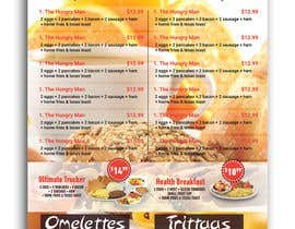 #34 cho Design a Restaurant Menu For Breakfast bởi Habib919000