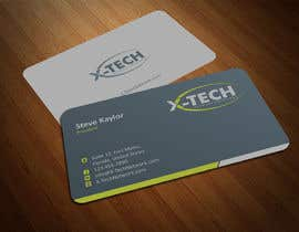 #47 for Develop a Corporate Identity for X-TechNetwork.com (Logo, Business Card & Letterhead) af ezesol