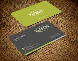 #48 para Develop a Corporate Identity for X-TechNetwork.com (Logo, Business Card & Letterhead) por ezesol