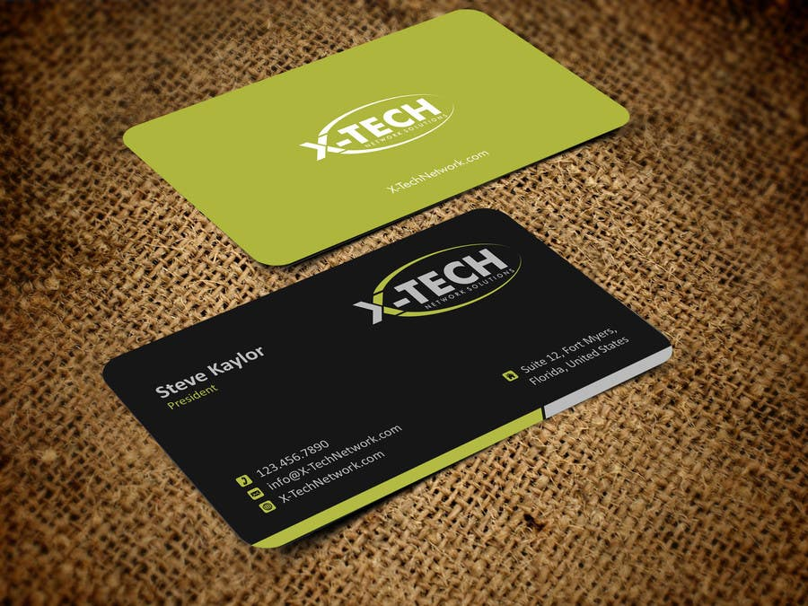 #49 for Develop a Corporate Identity for X-TechNetwork.com (Logo, Business Card & Letterhead) by ezesol