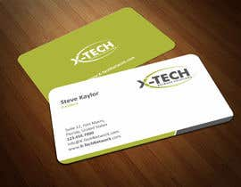 #57 for Develop a Corporate Identity for X-TechNetwork.com (Logo, Business Card & Letterhead) af ezesol