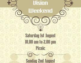#13 cho Design a Flyer for Vision Weekend bởi zeddcomputers