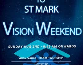 #20 for Design a Flyer for Vision Weekend by Thomas521