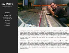 davidfloegel tarafından Build a Website for Sound Engineer/Mixer/Producer için no 4