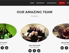 Nro 15 kilpailuun Build a Website for Sound Engineer/Mixer/Producer käyttäjältä deveshsuntha