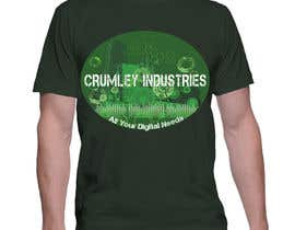 #33 cho Design a T-Shirt for Crumley Industries bởi violetabalaz